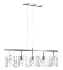 20679A 5-Light Trestle Hanging Light, Chrome
