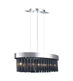 20707A 5-Light Chandelier, Chrome