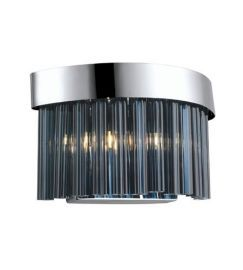 20708A 2-Light Wall Light, Chrome
