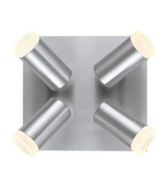 20721A 4-Light Ceiling Light, Matte Nickel