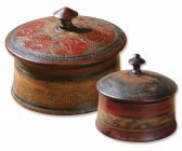 20800 Sherpa Decorative Boxes, Set/2