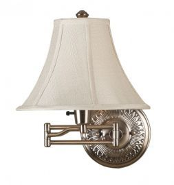 21395BRBR Amherst Wall Swing Arm Lamp