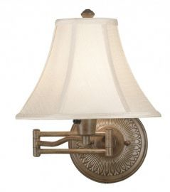 21395NUT Amherst Wall Swing Arm Lamp