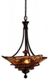 21904 Vitalia 3-Light Oil Rubbed Bronze Pendant