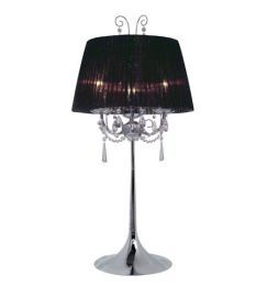 21956A 3-Light Table Lamp, Chrome