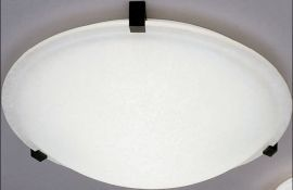 22208 WH Chequered Contempo Ceiling Fixture