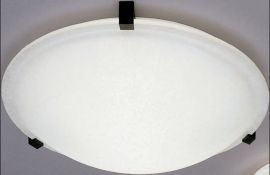 22219 WH Chequered Contempo Ceiling Fixture