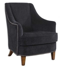 23002 Nala Midnight Black Armchair