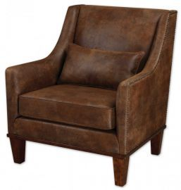 23030 Clay Leather Armchair