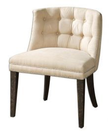 23049 Trixie Tufted Slipper Chair
