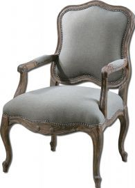 23095 Willa Steel Gray Armchair