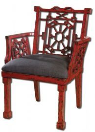 23604 Camdon Red Armchair