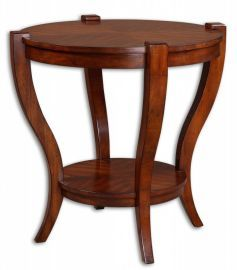 24142 Bergman Round End Table