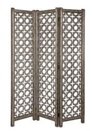 24181 Quatrefoil Burnished Floor Screen