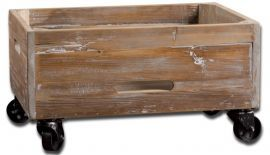 24247 Stratford Reclaimed Wood Rolling Box