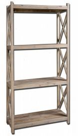 24248 Stratford Reclaimed Wood Etagere