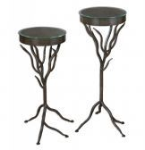 24316 Esher Plant Stands Set/2