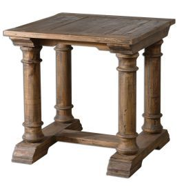 24341 Saturia Wooden End Table