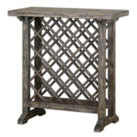 24354 Annileise Wooden Wine Table