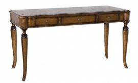 25574 Colter Honey Stained Writing Desk