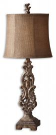 29156-1 Gia Scrolled Buffet Lamp