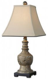 29299 Valtellina Taupe Gray Buffet Lamp