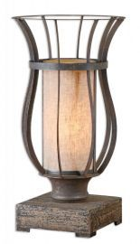 29573-1 Minozzo Bronze Accent Lamp