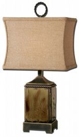 29728-1 Porano Mossy Green Buffet Lamp