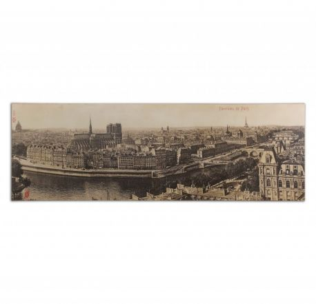 31500 Panorama De Paris Vintage Art
