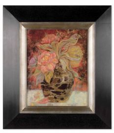 33439 Floral Bunda Framed Art