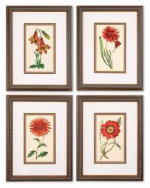 33495 Traditional Botanicals Art Set/4