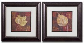 33570 Golden Fall Framed Art Set/2