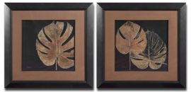 33571 Black Balazo Framed Art Set/2