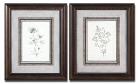 33586 Wheat Study Framed Art Set/2