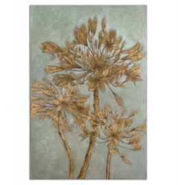 34275 Golden Leaves Wall Art