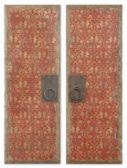 35002 Red Door Panels Set/2