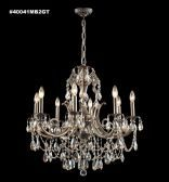 40041MB2GT IMPERIAL Crystal Golden Teak Chandelier