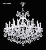 40258GL22 IMPERIAL Crystal Chandelier