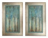 41410 Whispering Wind Framed Art, S/2