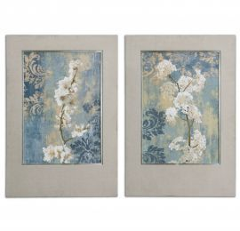 41511 Blossoms Framed Art Set/2