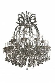 4307xxl-smk 16+8 Light Smoky Color Crystal Chandelier