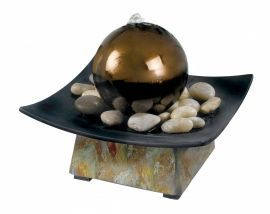 50235SL Sphere Indoor Table Fountain