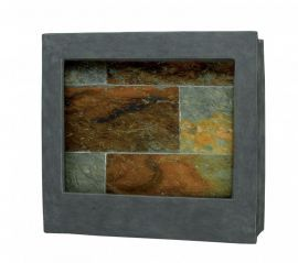 50236SL Eagle Square Indoor Wall Fountain