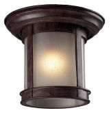 514F-WB Outdoor Flush Mount Light, Weathered Bronze