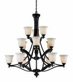 702-15-BRZ 15 Light Chandelier, Bronze