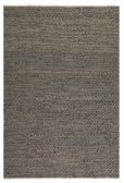 71001-5 Tobais 5 X 8 Rescued Leather & Hemp Rug