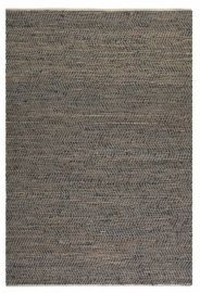 71001-9 Tobais 9 X 12 Rescued Leather & Hemp Rug