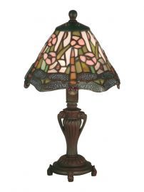 8034/640 Peacock Accent Lamp
