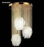 91591G22 IMPERIAL Crystal Chandelier
