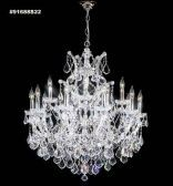 91688S0T Swarovski ELEMENTS Crystal Golden Teak Chandelier